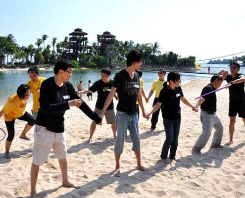 experiential learning group Singapore