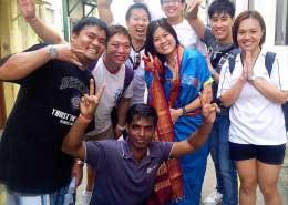 Heritage race Singapore teambuilding group