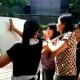 women during art jaming team building activities singapore