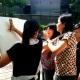 women during art jaming team building activities singapore