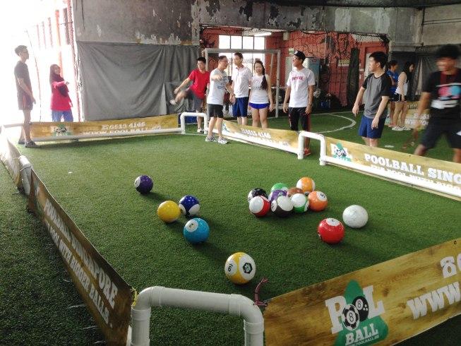 Poolball Team Bonding Singapore
